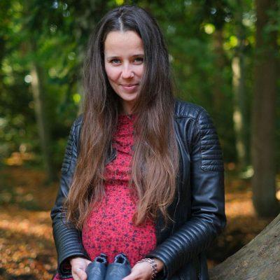 Zwangerschapsshoot In Het Bos